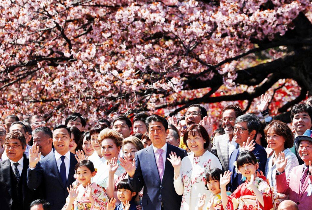 賞櫻會活動是自1952年起,每年4月日本政府都會邀請各黨派、社會各界、優秀體育選...