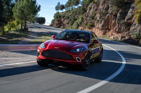 007也得改開休旅車!品牌首部休旅Aston Martin DBX正式發表