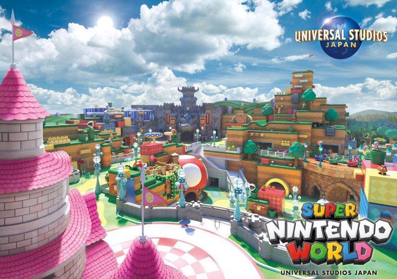 日本環球影城「任天堂世界」開幕預備!超夢幻主題樂園視覺曝光
