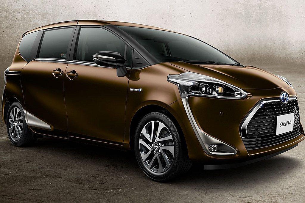 原先9月銷售第一的Toyota Sienta,在10月份也僅以9,302輛成績退...
