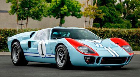 就是這輛福特跑贏法拉利!電影《賽道狂人》GT40復刻賽車即將拍賣