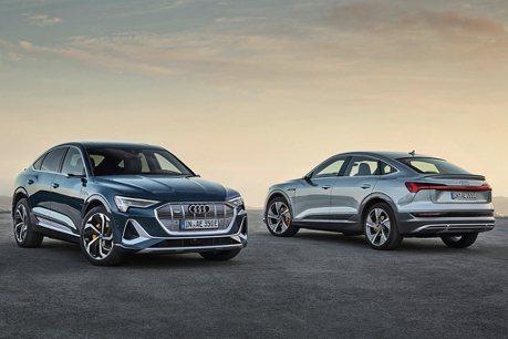 純電美型休旅!Audi e-tron Sportback美國洛杉磯車展全球首發