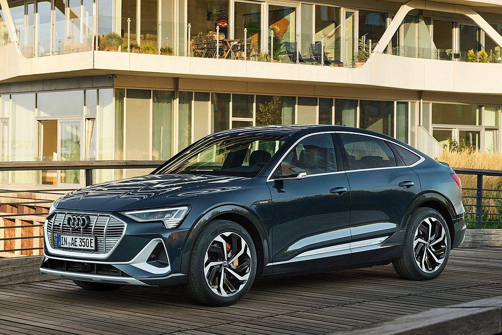 Audi e-tron Sportback將由位於比利時布魯塞爾碳中和、零排放的...