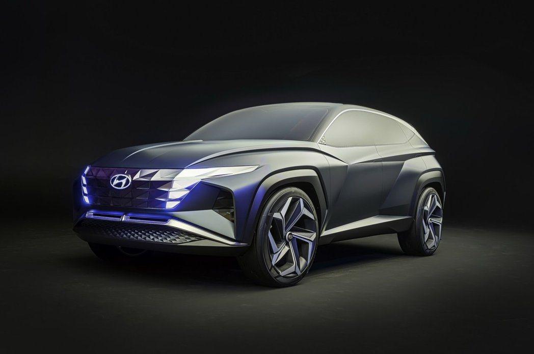 Hyundai Vision T Concept。 摘自Hyundai