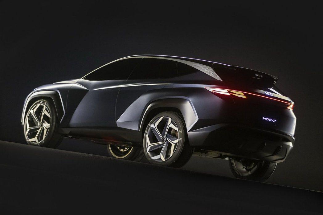 Hyundai Vision T Concept採用品牌最新的Sensuous ...