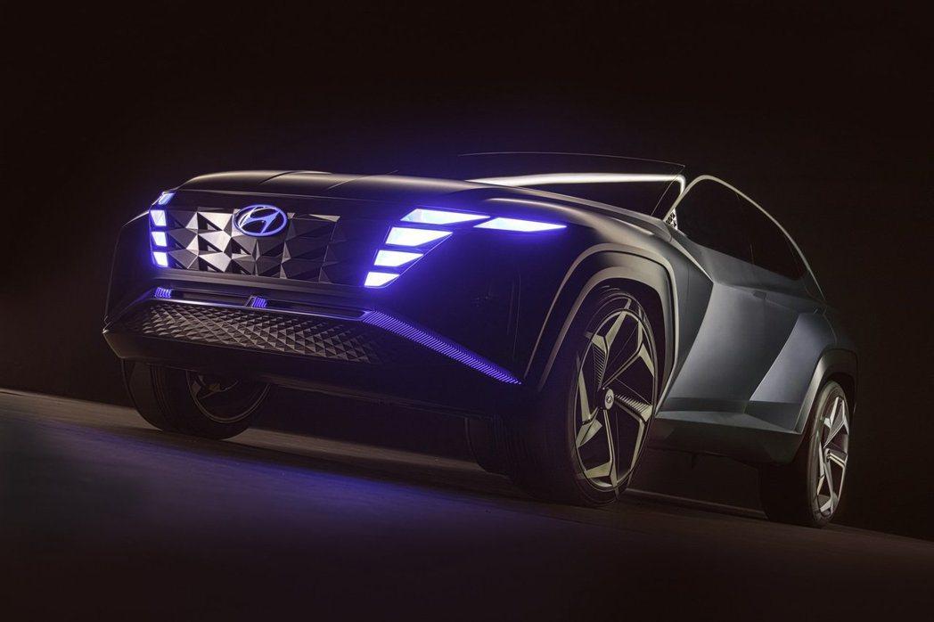 Hyundai Vision T Concept插電式油電混合動力概念休旅在洛杉...