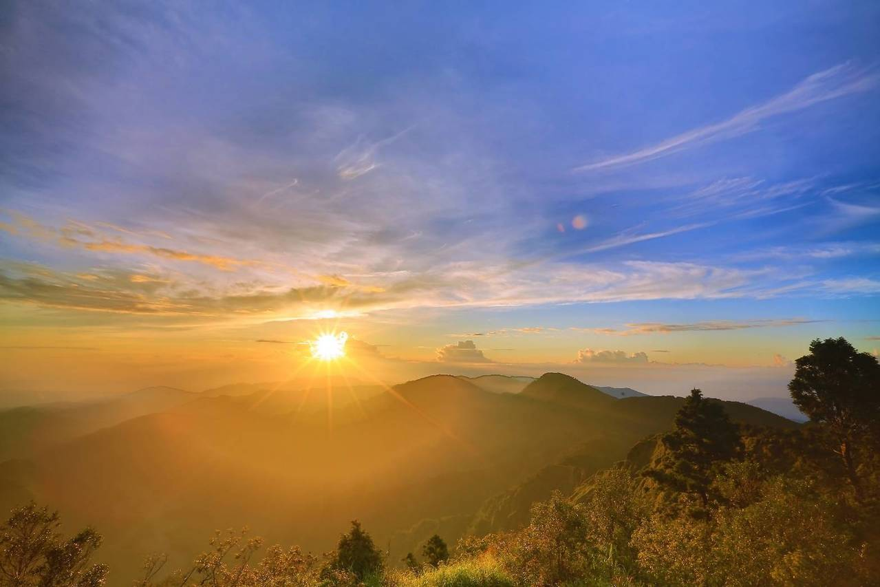 一年從太平開始,太平山是迎曙光勝地。圖/林務局羅東林區管理處提供