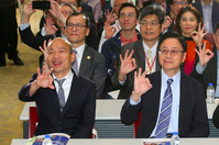 最新民調/2020三強對決 蔡賴配領先韓張配16.6百分點