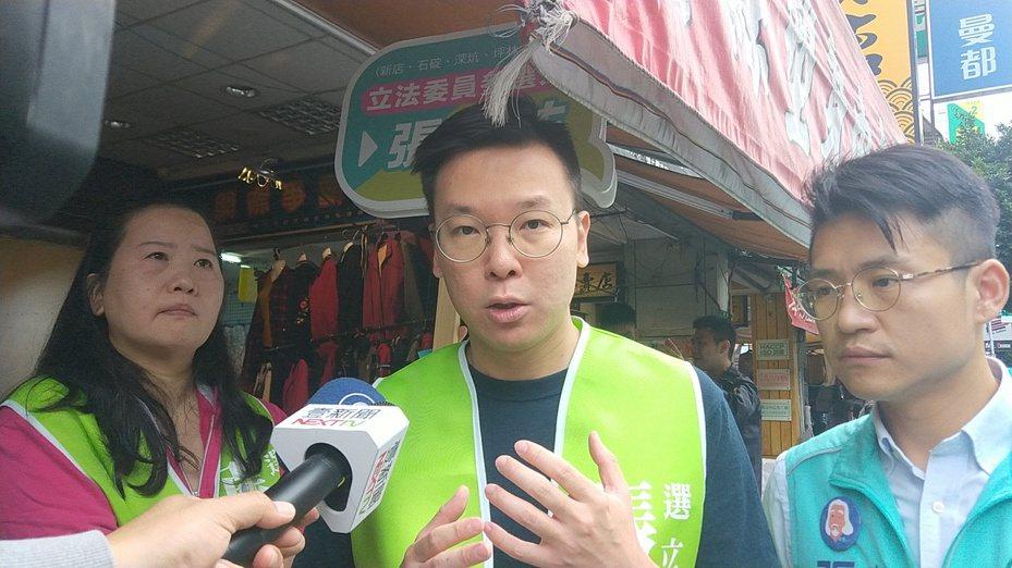 民進黨秘書長林飛帆認國、民兩黨不分區立委名單,社會可以公評。記者施鴻基/攝影