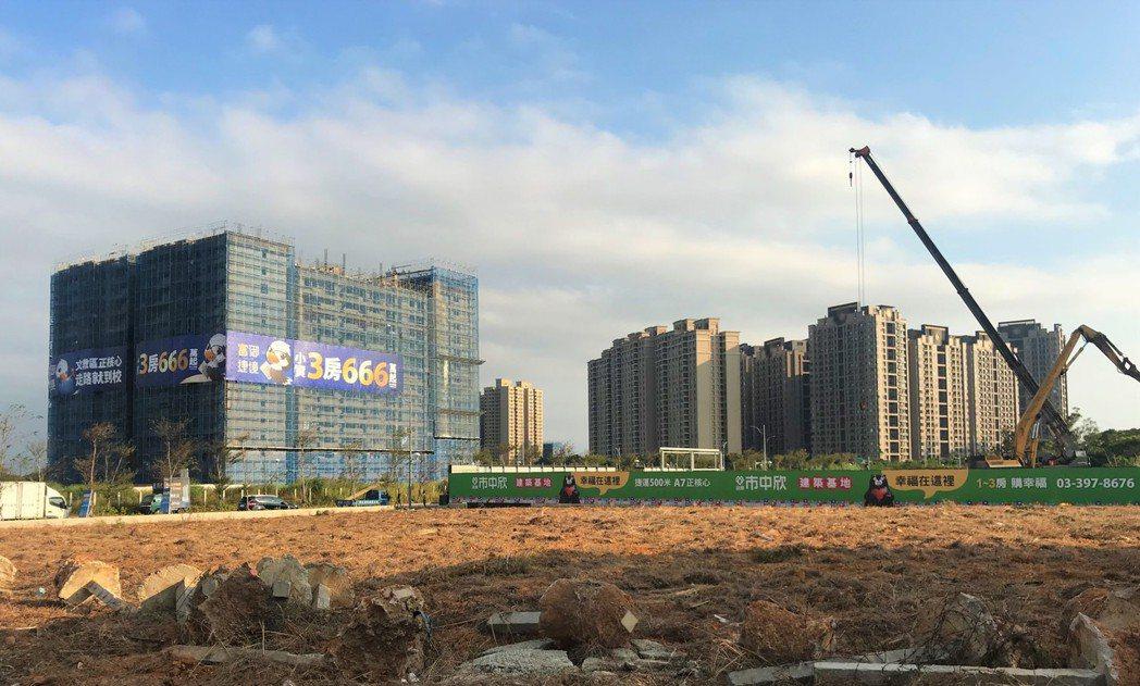 A7重劃區 記者游智文/攝影