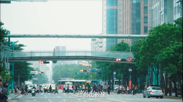 PANTONE為台北挑選代表色。圖/摘自台北城市色彩計畫藝術展宣傳片