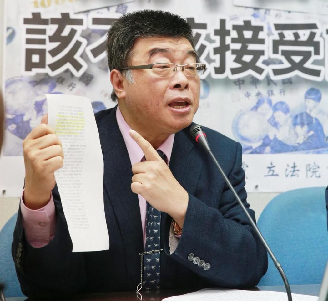 國民黨前立委邱毅。 圖/聯合報系資料照片