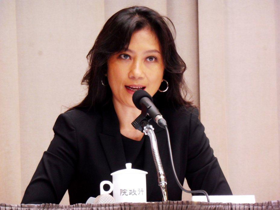 行政院發言人Kolas Yotaka。記者賴于榛/攝影