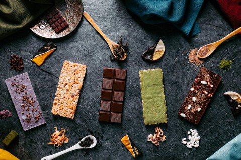 福灣巧克力在頂級巧克力中融入在地滋味。圖/福灣巧克力提供