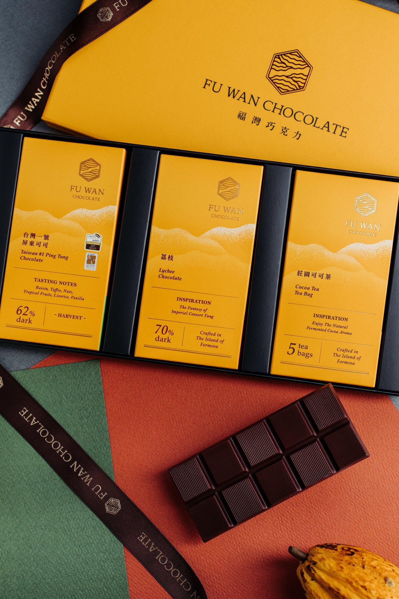 福灣巧克力致力將東方迷人極致的可可風情傳遞到全世界。圖/福灣巧克力提供