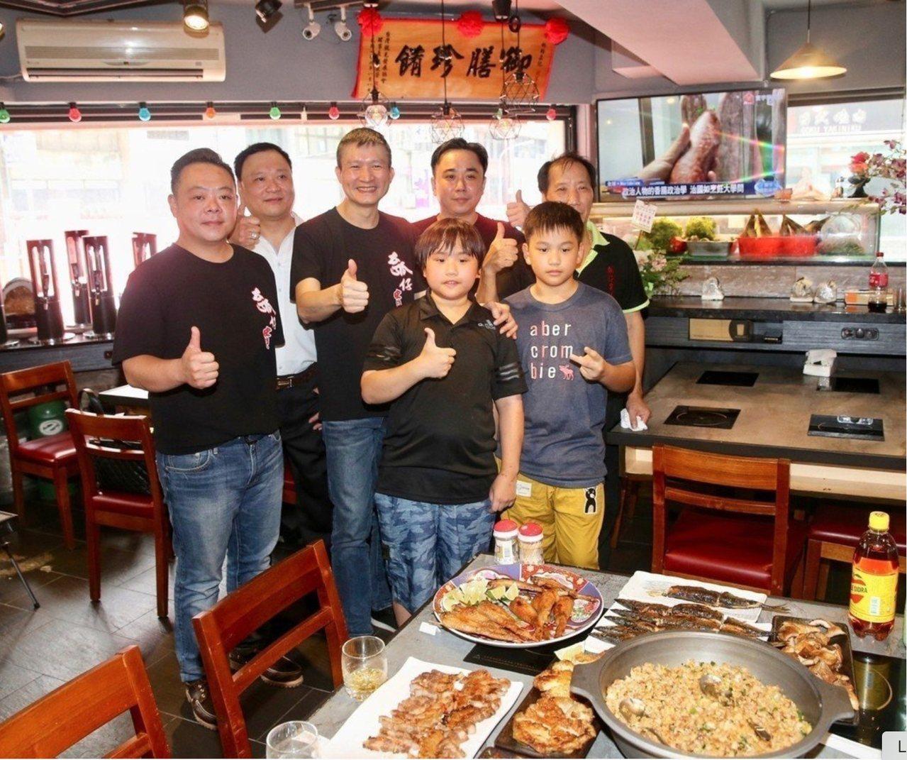 小彬彬燒烤店去年6月第三度風光開幕。本報資料照片