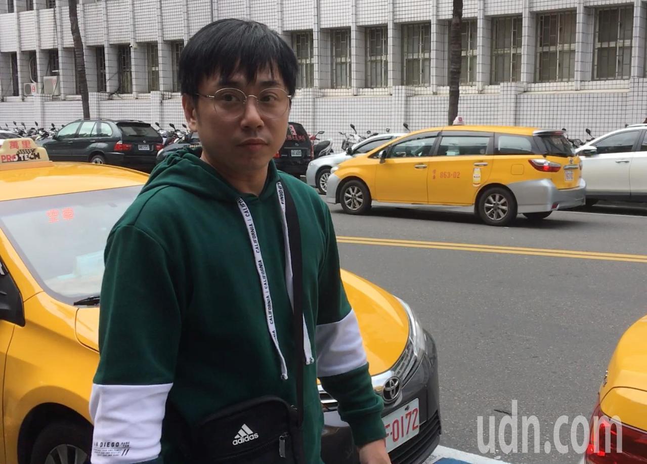 小彬彬今天到台北地方法院出庭作證。記者林孟潔/攝影