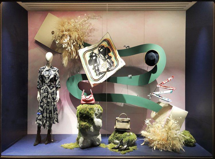 包包開口也是「Hermès Dream」的入口之一。圖/愛馬仕提供