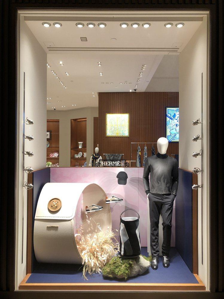 以袖口作為渠道,往返於「Hermès Dream」的現實與夢境之間。圖/愛馬仕提...