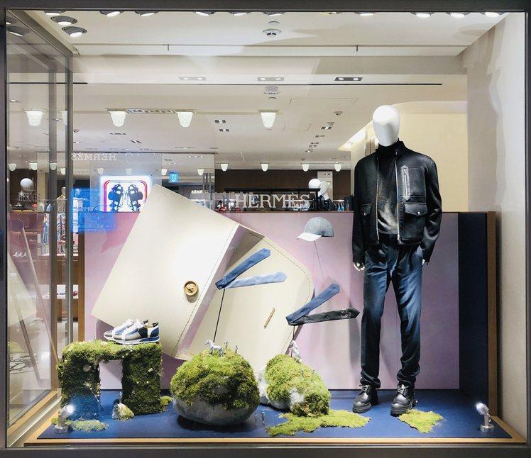 愛馬仕每年都會更換4次櫥窗,今年冬季以「Hermès Dream」作為櫥窗設計概...
