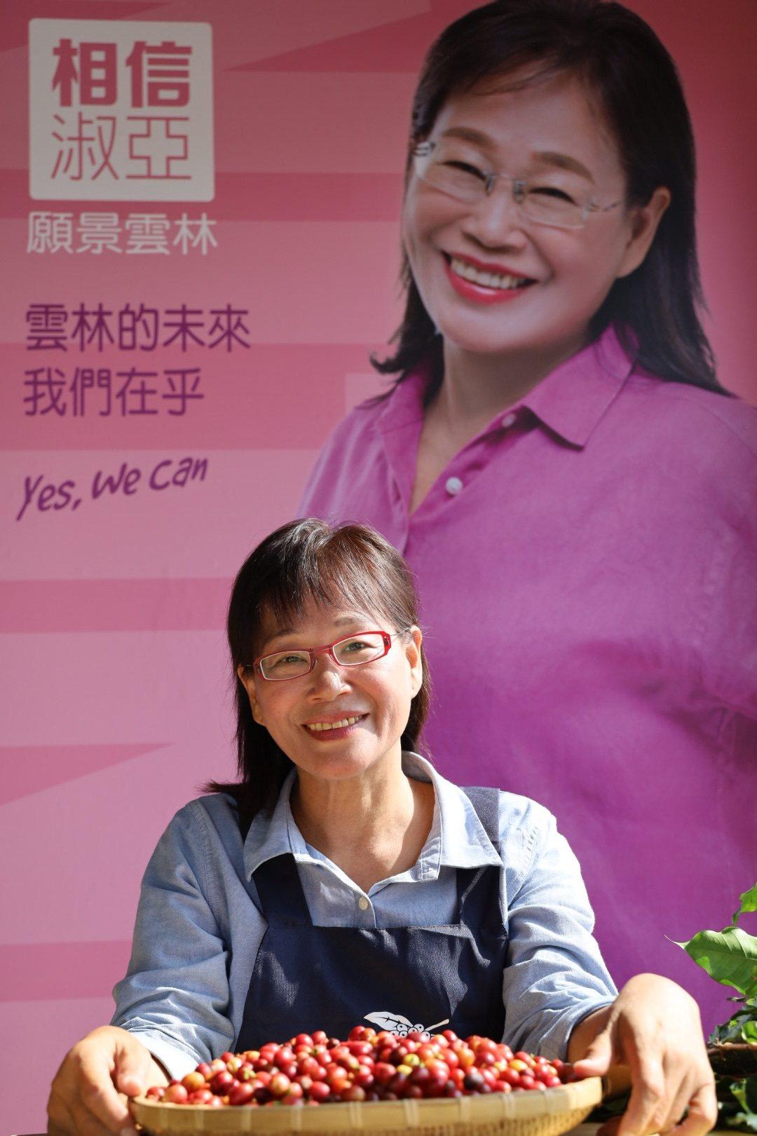 雲林縣第二選區立法委員參選人謝淑亞。記者李京昇/攝影
