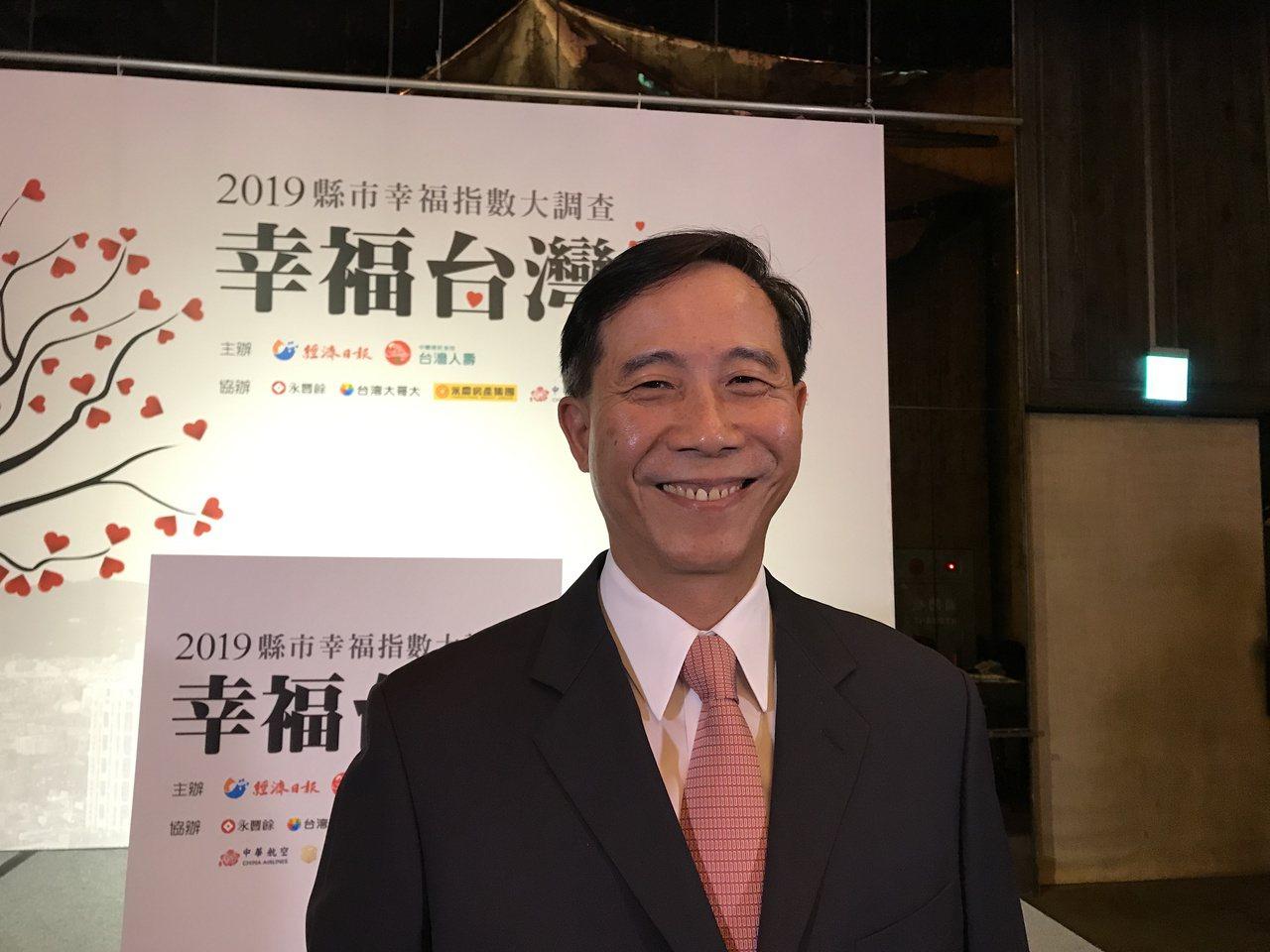 台灣人壽總經理莊中慶。記者陳怡慈/攝影