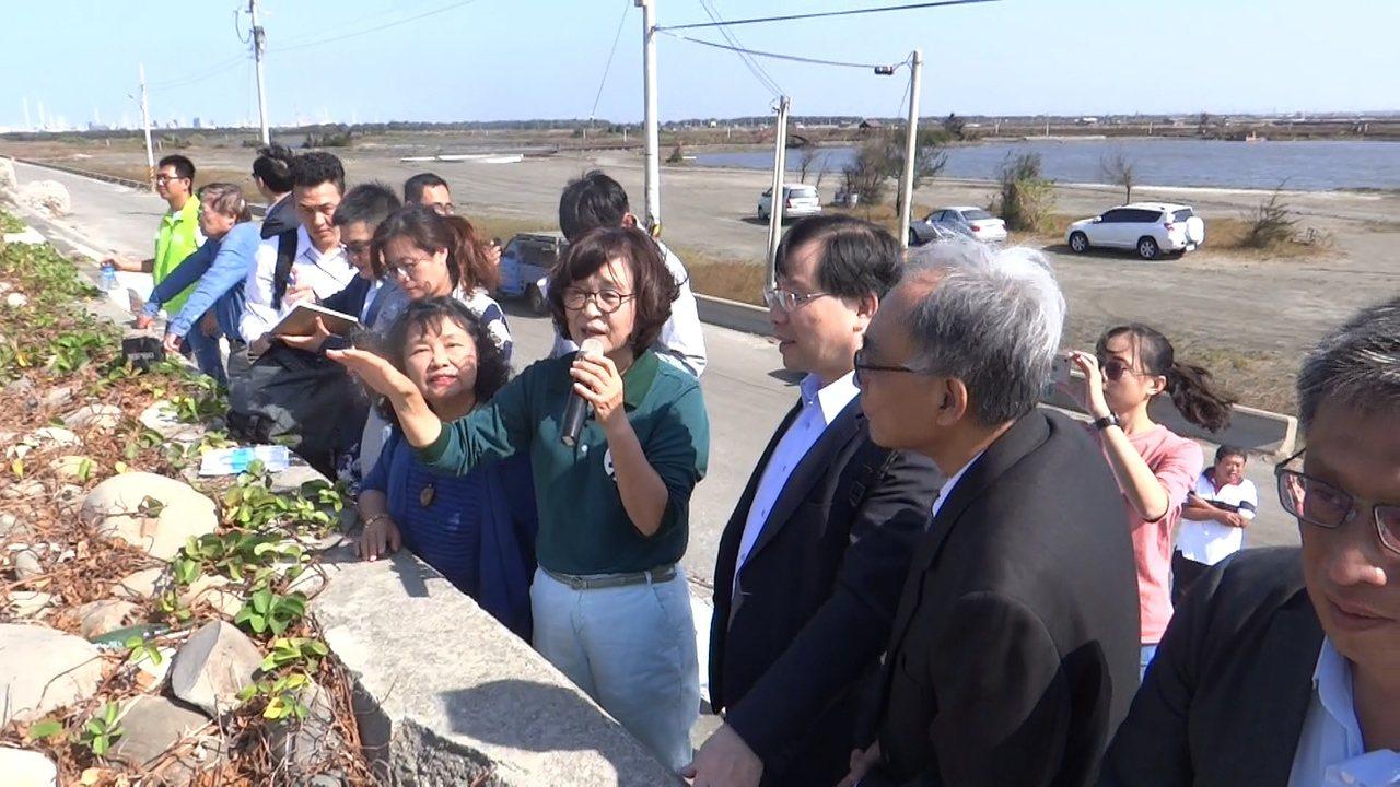 立院經濟委員會移師台西勘察台西綠能專區,並聽取地方意見,期能打造一座兼具觀光的綠...
