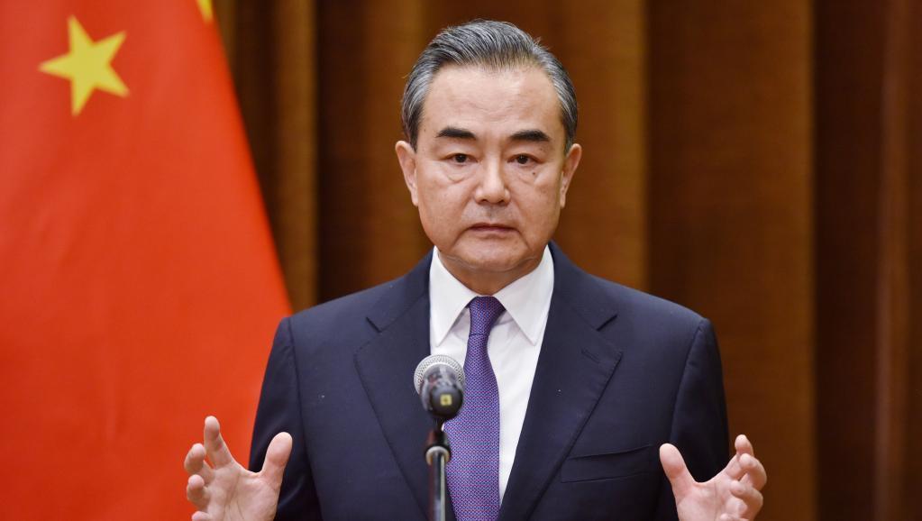 大陸國務委員兼外交部長王毅。圖/取自路透社
