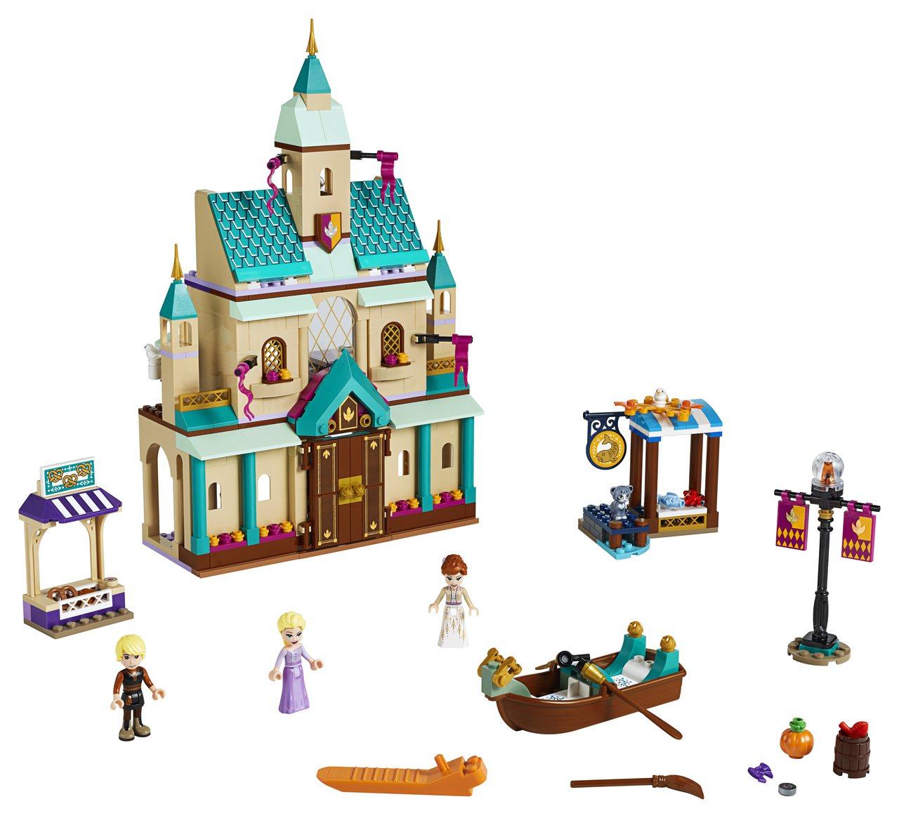 LEGO樂高《冰雪奇緣2》系列「艾倫戴爾王國城堡村」以3層樓重現電影場景細節,售...