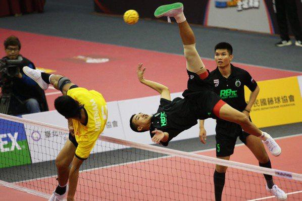 藤球/「泰」強了 首屆台灣邀請賽泰國包雙冠