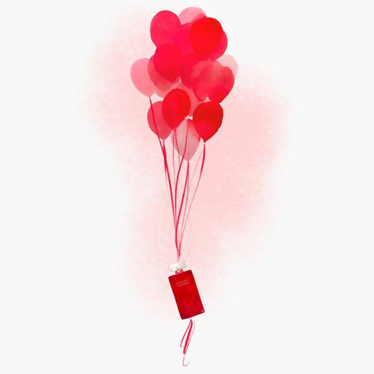 伊麗莎白雅頓RED DOOR香水與美國的時尚插畫家Jeanette Getros...