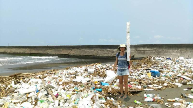 近七成的海洋廢棄物是飲料杯、吸管、餐具等跟飲食有關的一次性廢棄物。圖/荒野保護協會提供