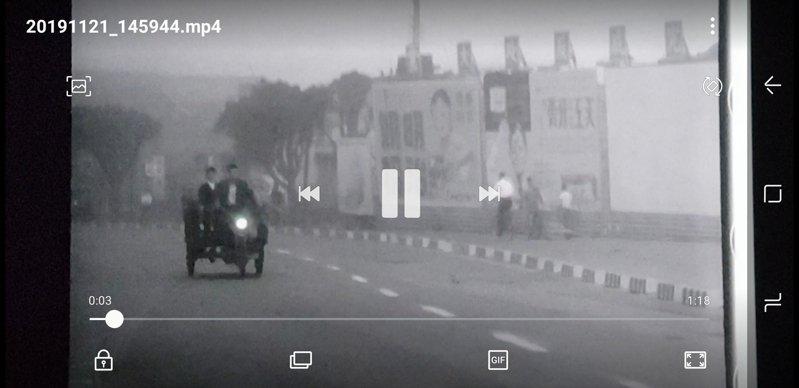 在C-LAB聲響術節展演的「重訪台北之晨」,是結合聲景採集、配樂與擬音及沉浸式聲音技術完成的影音製作,重新詮釋1964年白景瑞拍攝、未能完成配音和配樂的無聲紀錄片「台北之晨」。記者陳宛茜/翻攝