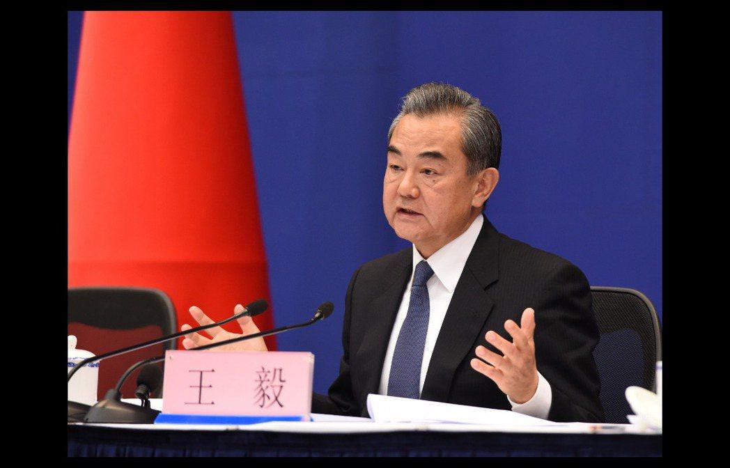 大陸外交部長王毅。圖/取自中新社