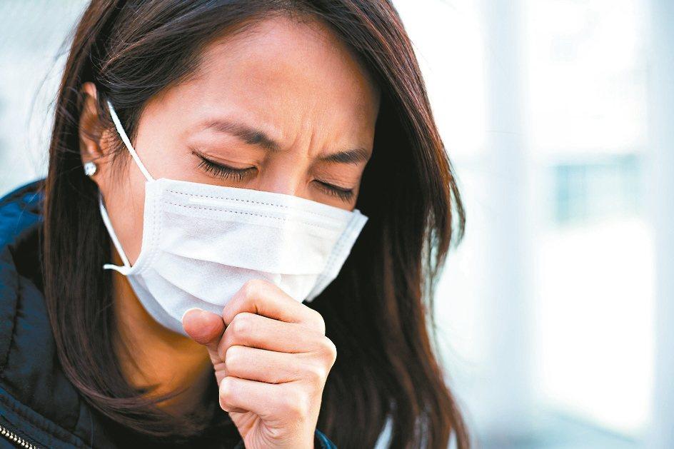 咳嗽示意圖。 圖/123RF
