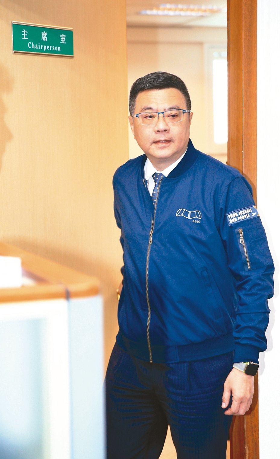 民進黨主席卓榮泰臉書貼文,質疑國民黨不分區名單。 圖/聯合報系資料照片