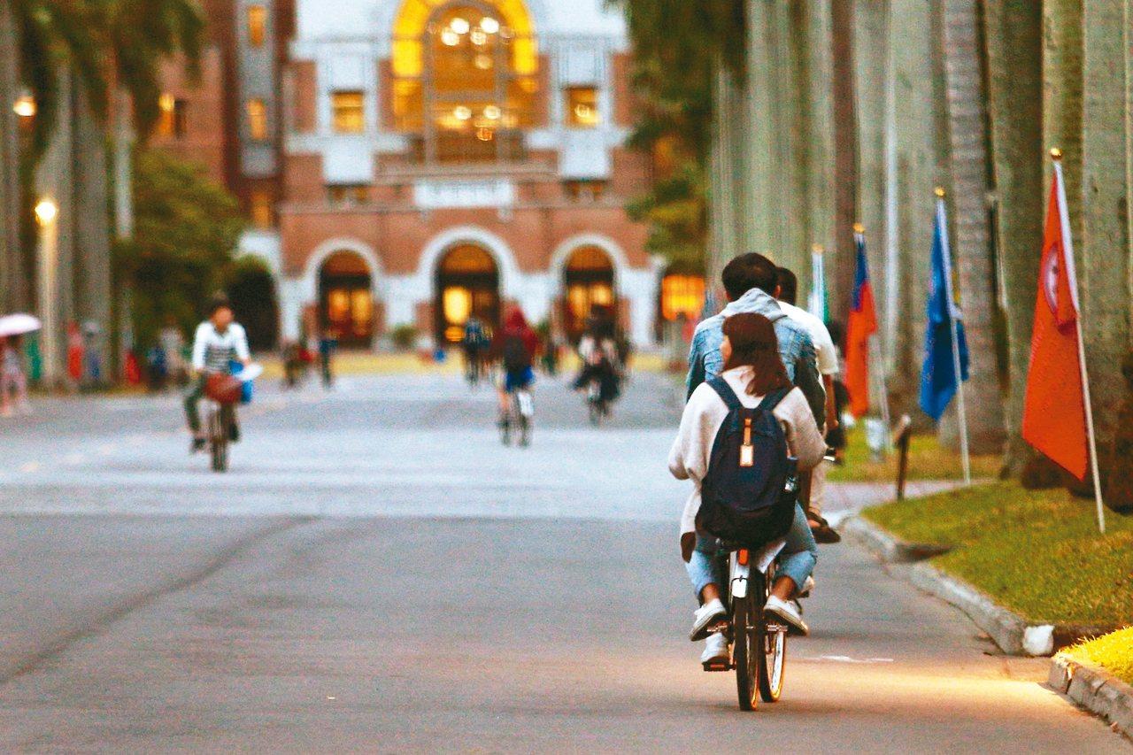 近六百名在港學生申請來台大做訪問生,面臨住宿不足問題,台大正積極解決中。 記者蘇...