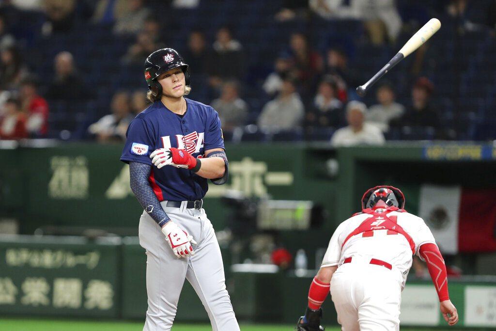 美國隊在12強錯過2020年東京奧運門票,讓高層考慮開放大聯盟球員參賽。 美聯社