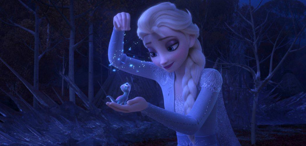 「冰雪奇緣2」又有可愛的小動物新角色。圖/迪士尼提供