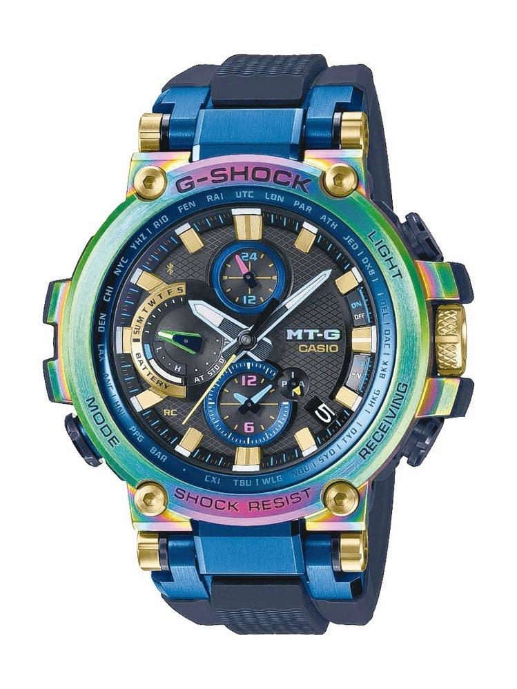 G-Shock MT-G 20周年紀念MTG-B1000RB腕表,約32,000...
