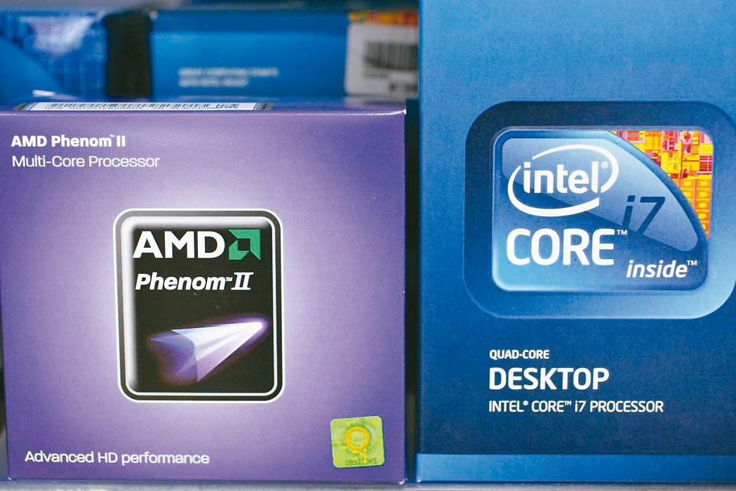 全球晶片龍頭英特爾供貨吃緊產生的轉單效應,已經嘉惠勁敵超微公司(AMD)。 美聯...