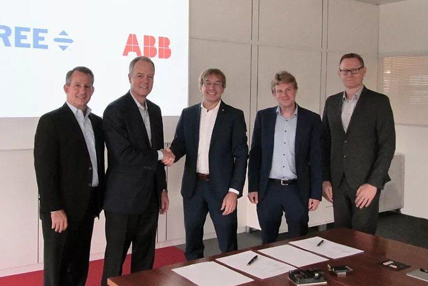 科銳與ABB宣佈SiC合作,提供汽車和工業領域解決方案。 科銳公司/提供
