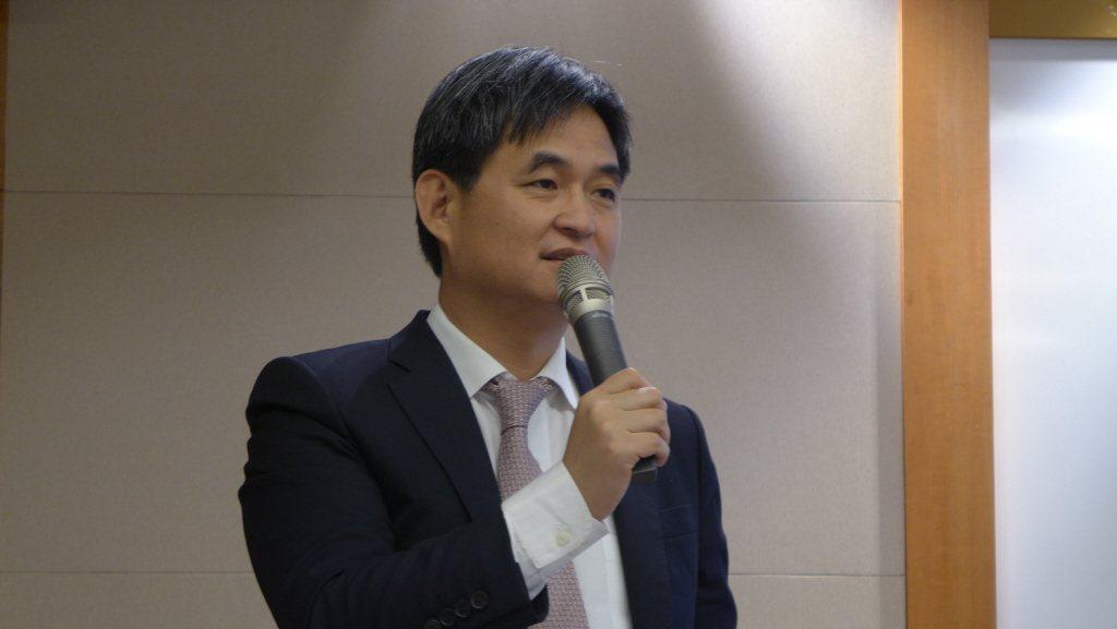 文曄董事長鄭文宗。聯合報系資料照片/記者鐘惠玲攝影
