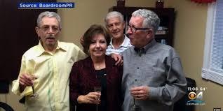 佛州陪審團判決,同性伴侶卡普利歐(左),因吸菸導致肺病變致死,雷諾菸草及菲利普莫...