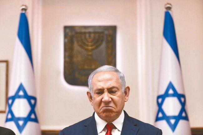 以色列總理內唐亞胡遭到起訴,創以國首例。 美聯社