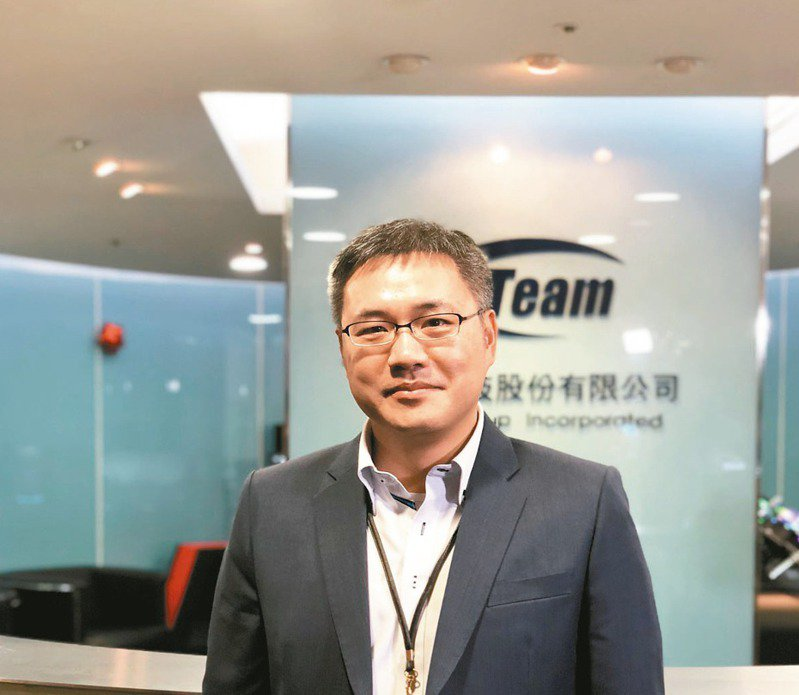 十銓科技總經理陳慶文。圖/聯合報系資料照片
