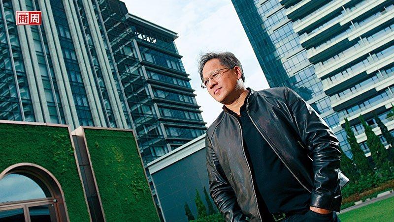 輝達要從晶片廠跨界成為軟體商,分析師看好執行長黃仁勳的轉型大計,紛紛上調目標價。(攝影者.楊文財)