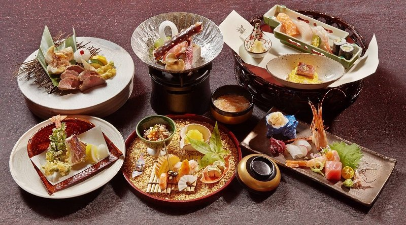 宜蘭力麗威斯汀春節期間的日本料理菜色。 業者/提供