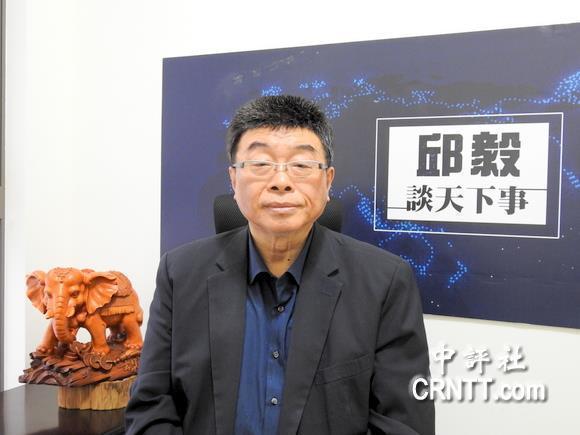 邱毅獲邀名列新黨不分區立委第一名。(中評社 倪鴻祥攝)