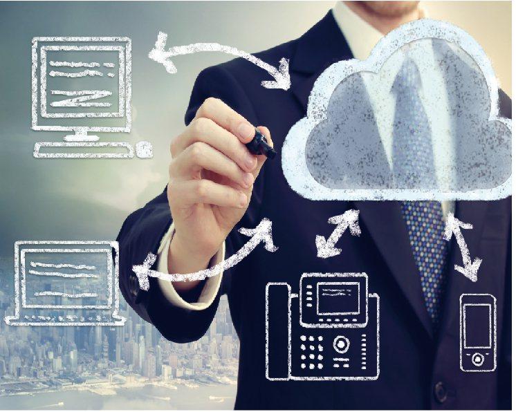 「雲端總機」可為企業通訊應用打開一扇嶄新的大門。台灣大哥大/提供